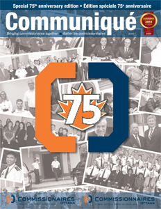 75th anniversary edition of Communiqué in P D F format