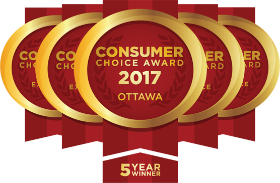 Commissionaires Ottawa won the Consumer Choice Award in 2013, 2014, and 2015