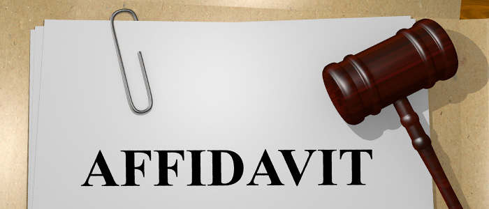 Oaths and affidavits